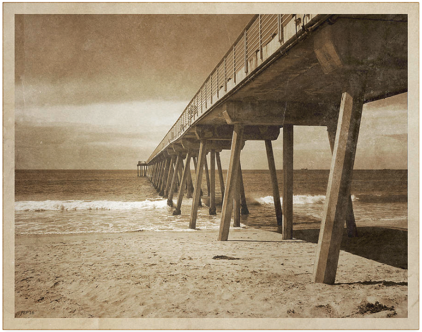 Vintage Hermosa Beach, California