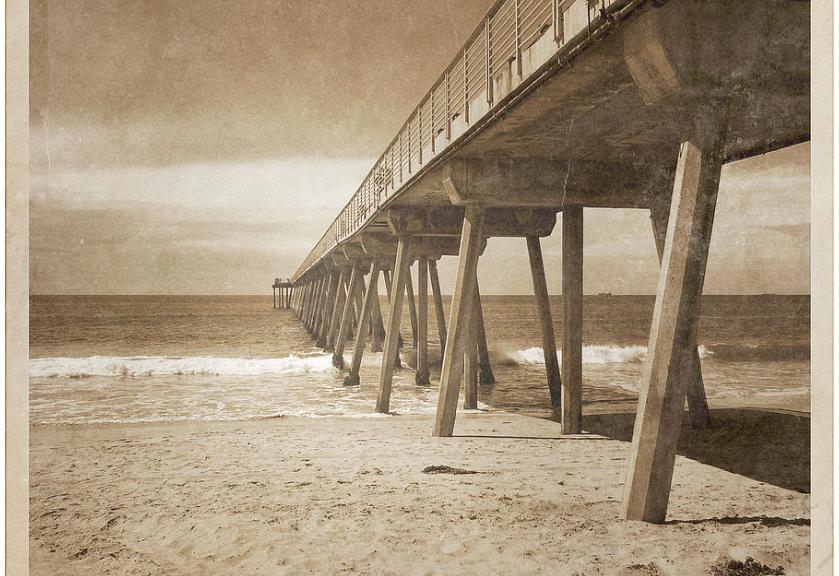 Vintage Hermosa Beach, California