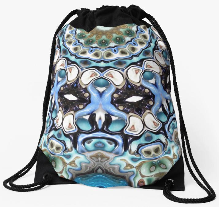 Melting Colors Drawstring Bag
