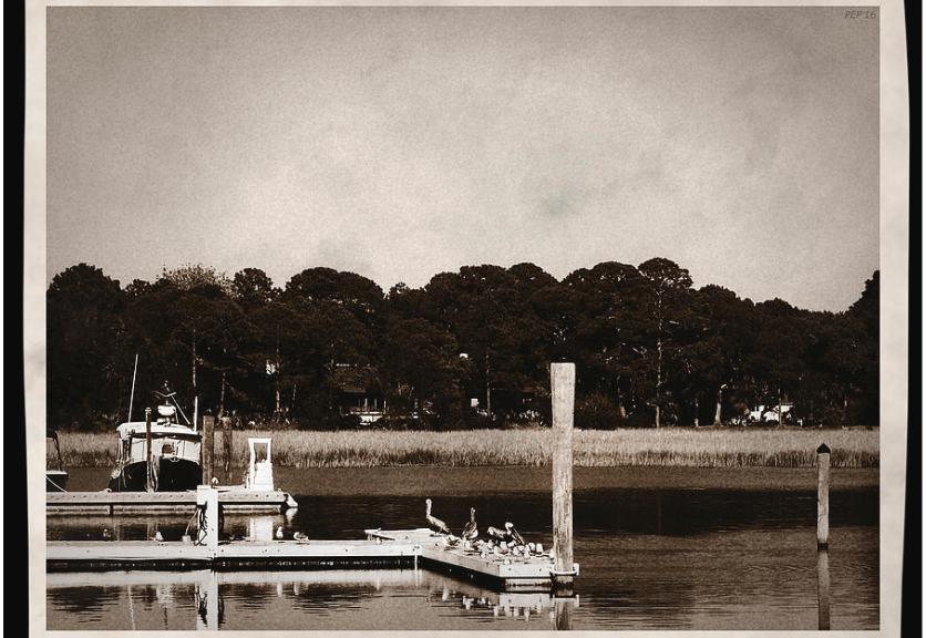 Sepia Tone Lagoon