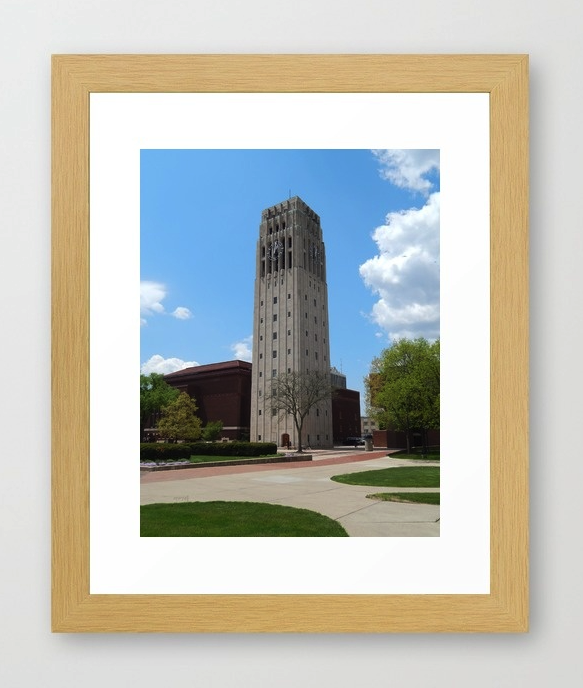 Ann Arbor Clock Tower Print