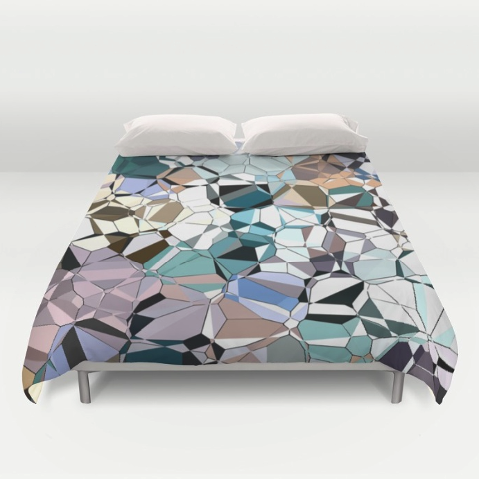 Abstract Geometric Duvet Cover