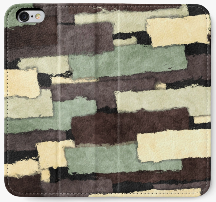 Textured Layers iPhone Wallet