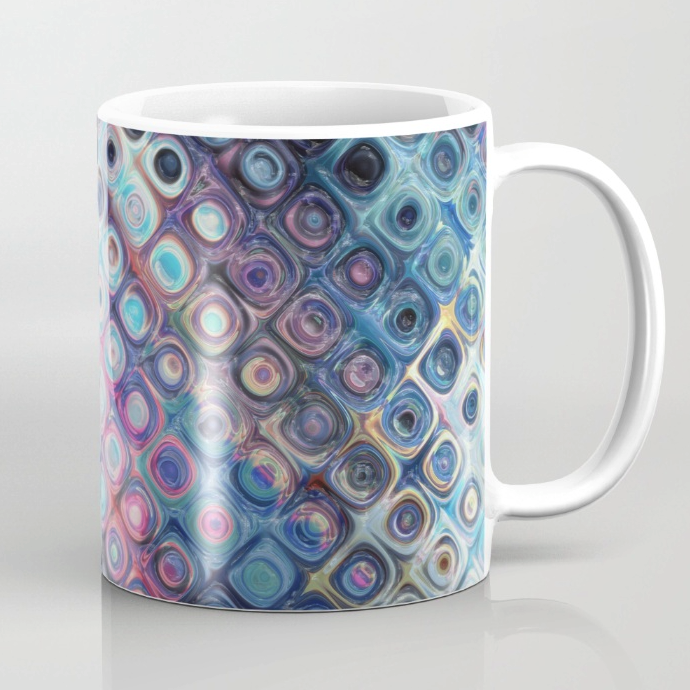 Colorful Abstract Pattern Coffee Mug