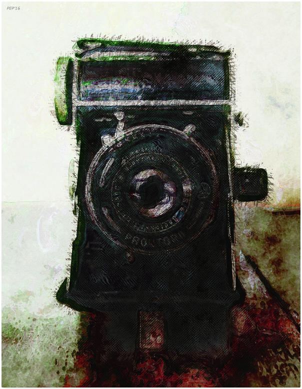 Vintage Still Life Camera