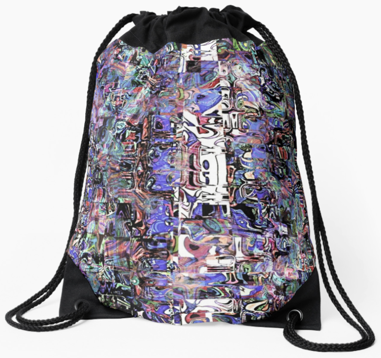 Abstract Grunge Backpack