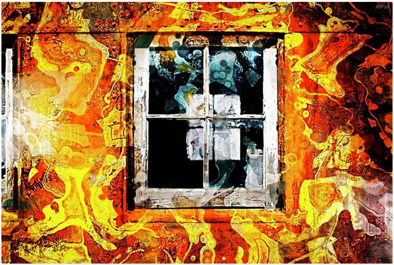 Vintage Grunge Window