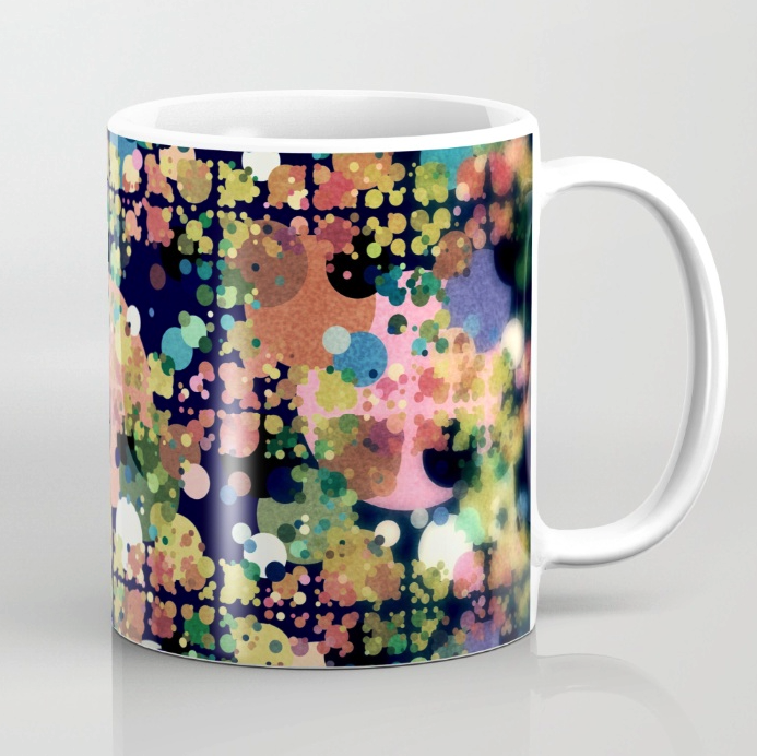 Circles Pattern Coffee Mug
