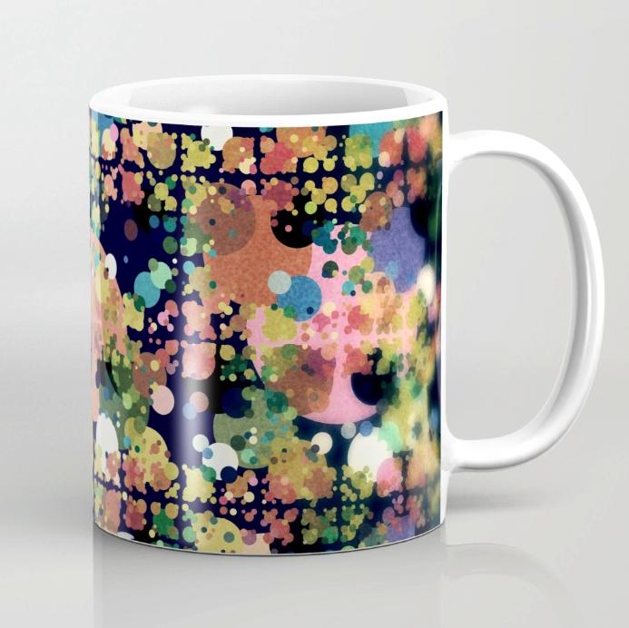 Circles Pattern Coffee Mug