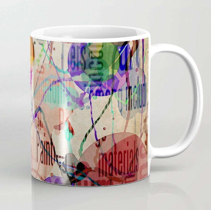 Typographic Coffee Mug