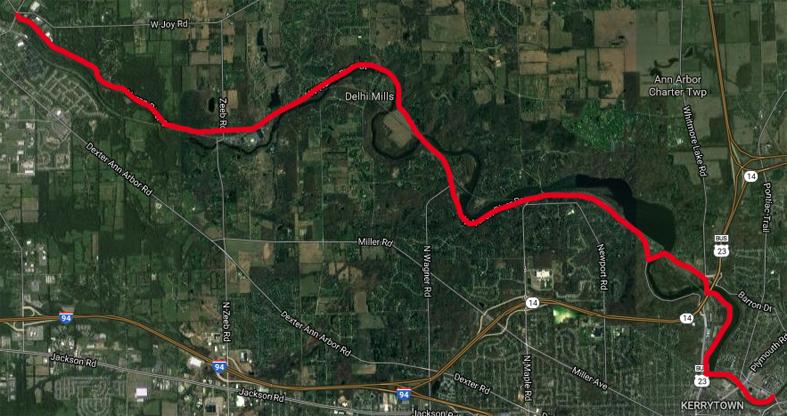 Bike Route Map