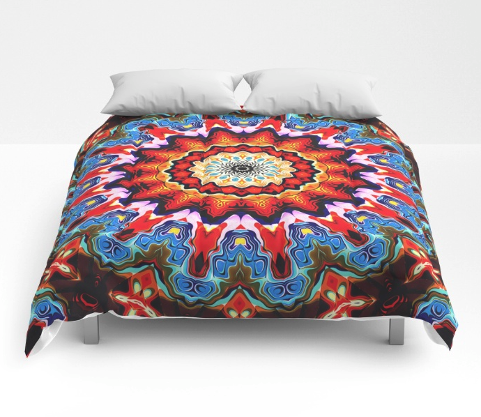 Colorful Pattern Comforter