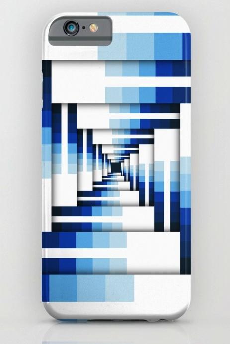 Geometric Layers of Blue