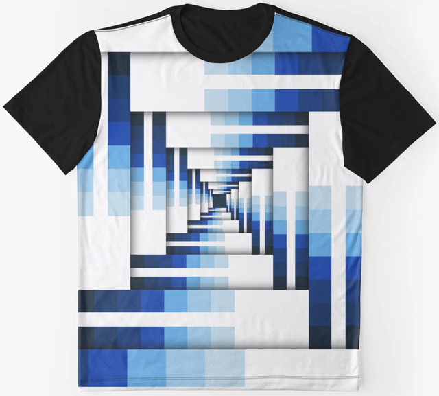 Geometric Layers of Blue