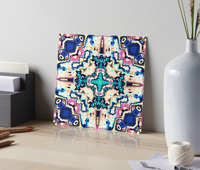Colorful Pattern Gallery Board