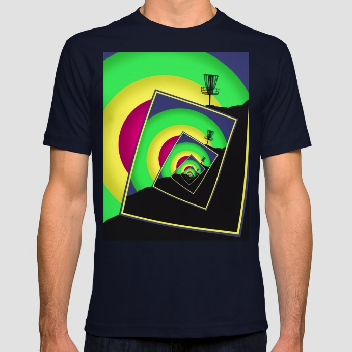 Disc Golf Baskets T-shirt