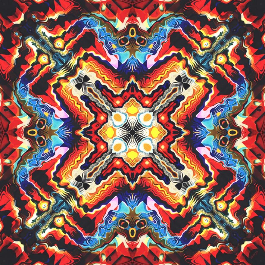 Colorful Tribal Motif