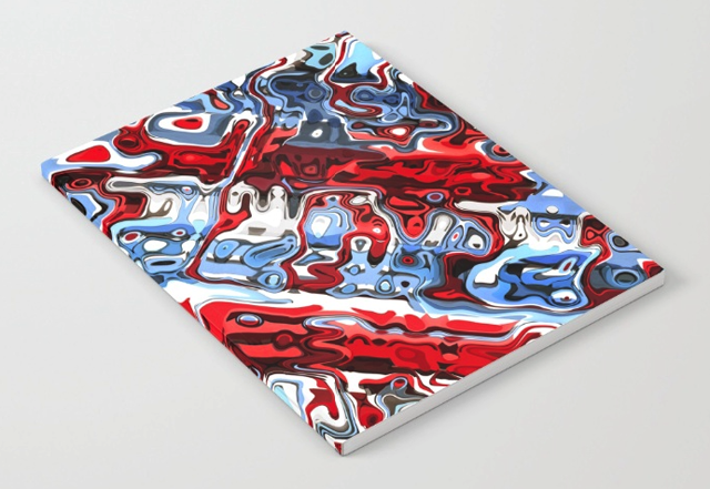 Abstract Colorful Notebook