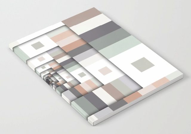 Colorful Geometric Layers Notebook