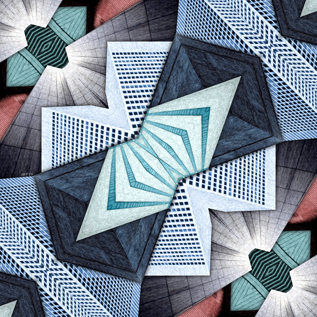 Abstract Structural Collage