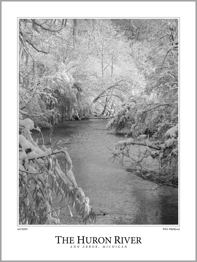 Winter On The Huron River
