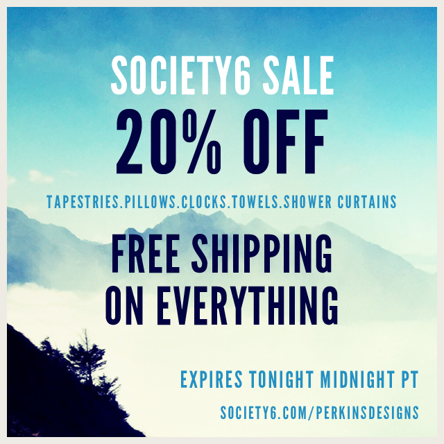 Sales Event At #Society6
