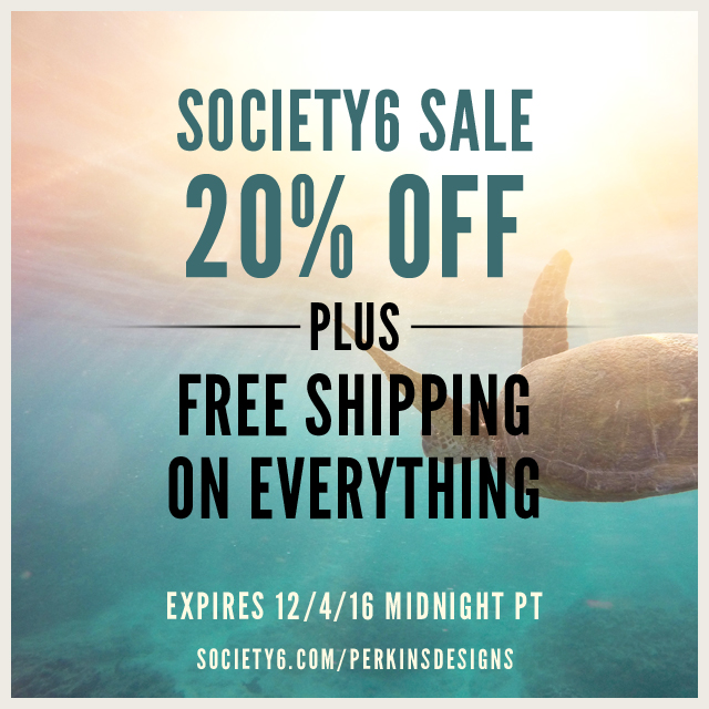 Sales Promotion At #Society6