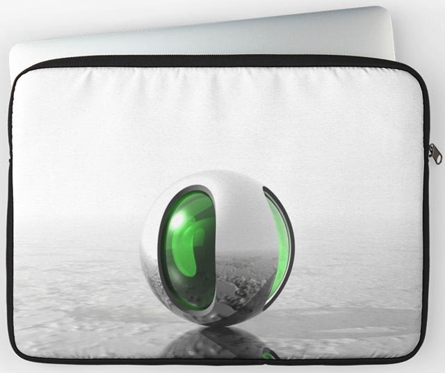 Extraterrestrial Laptop Computer Sleeve
