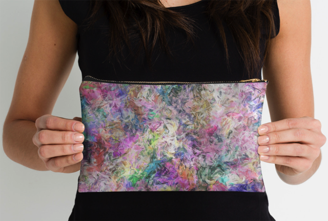 Abstract Spectral Studio Pouch