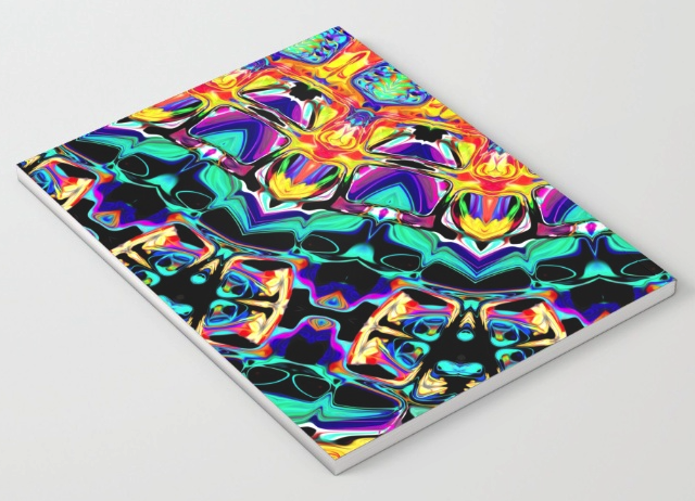 Abstract Spectral Pattern Notebook