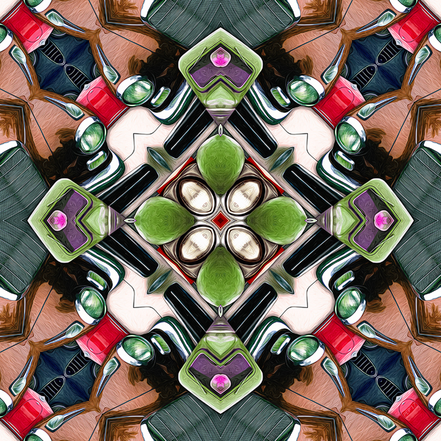 Cars In A Kaleidoscope