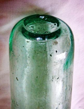 Vintage Glass Bottle Five