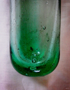 Vintage Glass Bottle Three