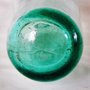 Vintage Glass Bottle Four