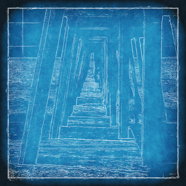 Ocean Pier Blueprint