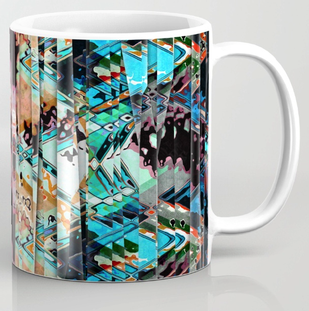 Shreds of Color Coffee Mug