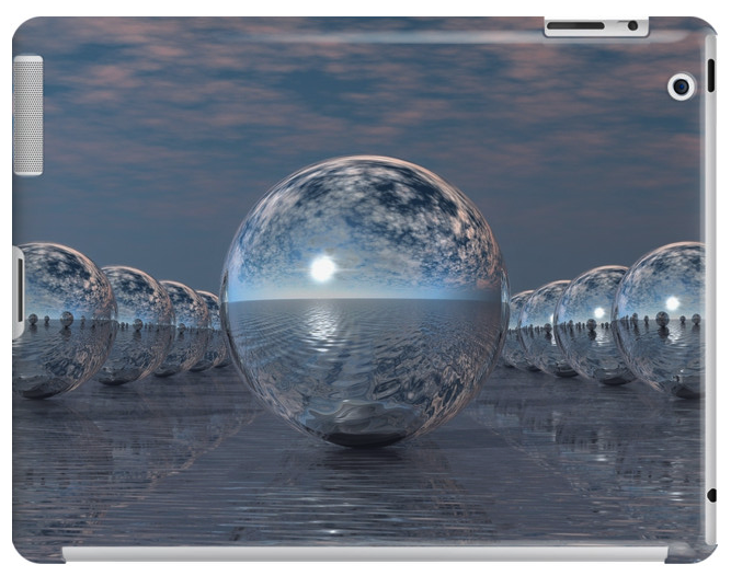 Spheres In The Sun iPad Case