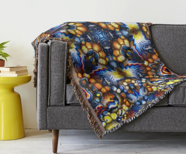 Decorative Pattern Throw Blanket