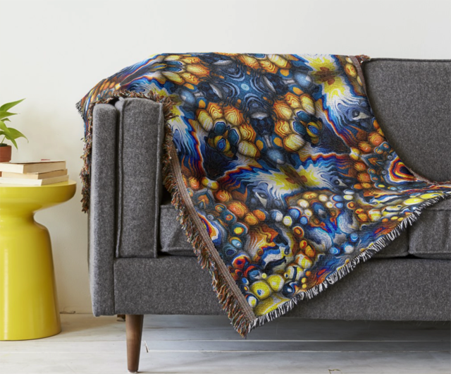 Decorative Pattern Throw Blanket
