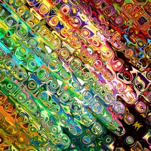 Colorful Glass Abstract