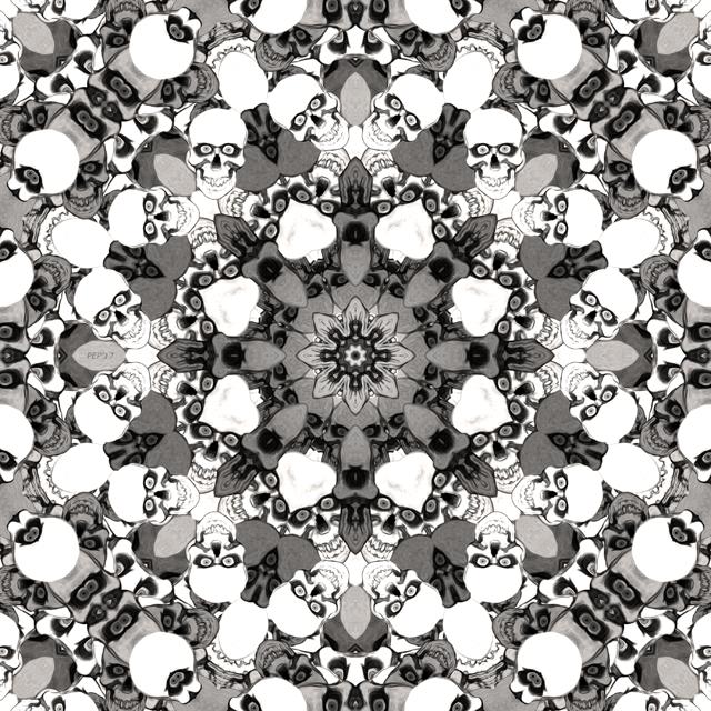 Skulls Mandala