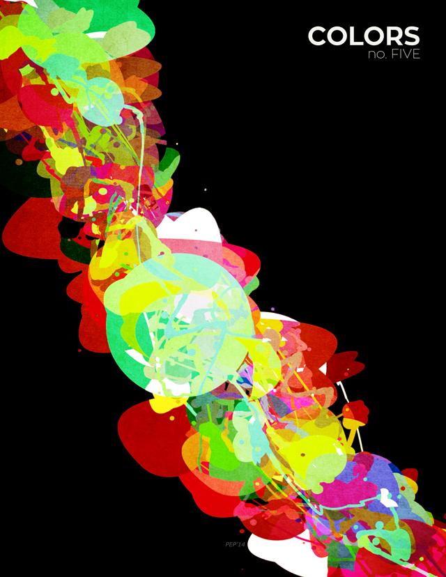 Mixed Media Colors 5