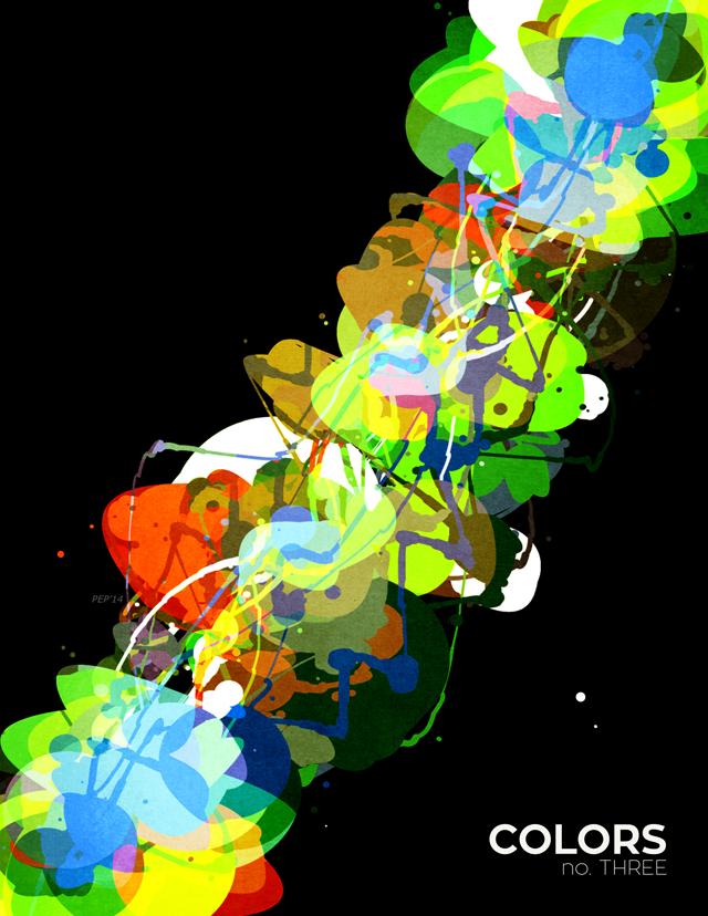 Mixed Media Colors 3