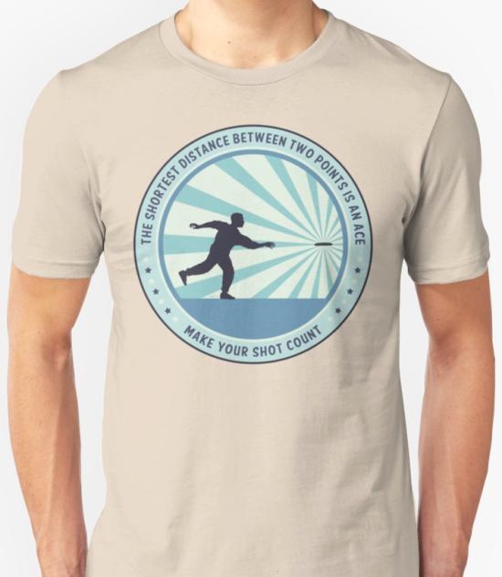 Make Your Shot Count Disc Golf T-shirt