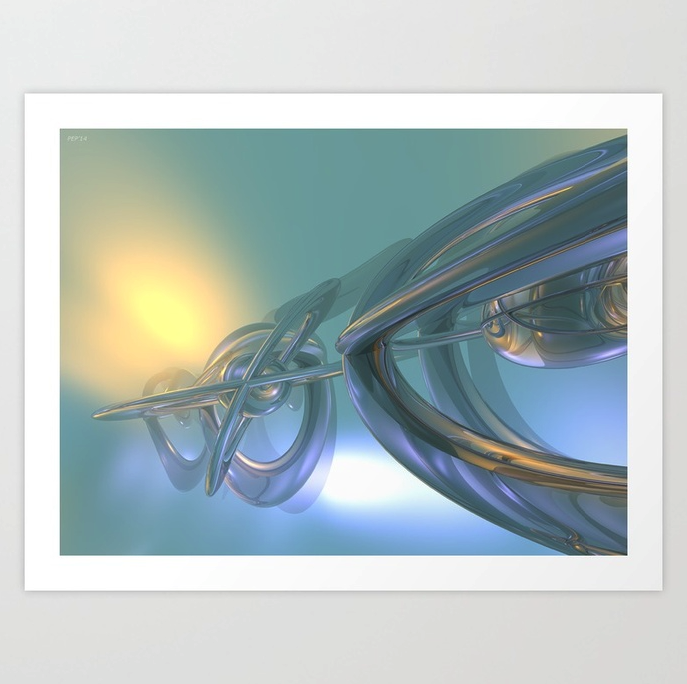 Time Travel Technology Art Print