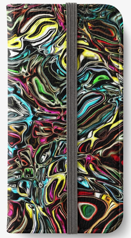 Reflections of Color iPhone Wallet