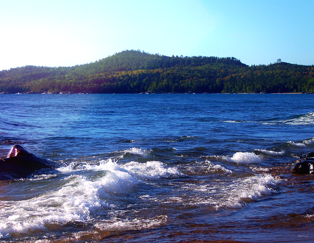 Lake Superior Landscape