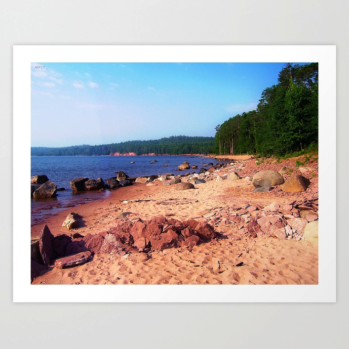Summer Shores of Lake Superior