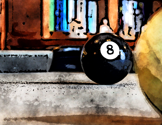 Eight Ball In The Corner Pocket For The Win