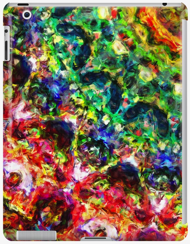 Rings of Color iPad Case